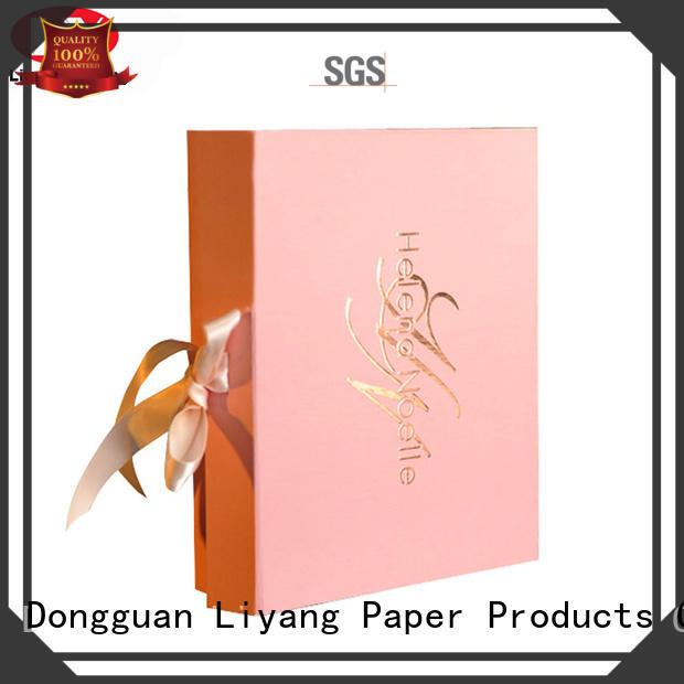 Quality Liyang Paper Packaging Brand cosmetic gift packaging popular packaging