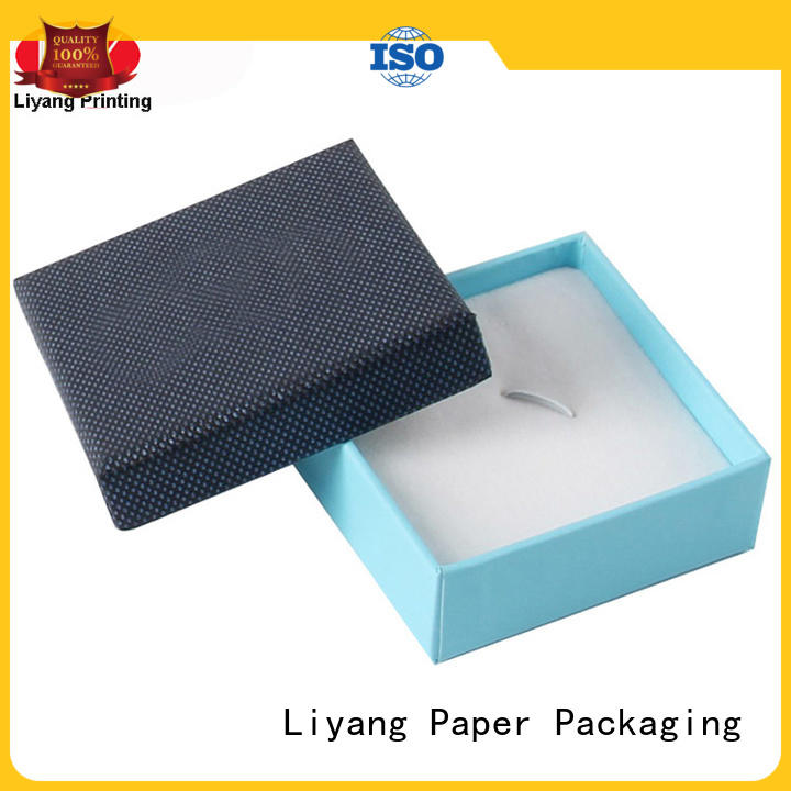 luxury custom paper jewelry boxes ribbon at discount for small bracelet