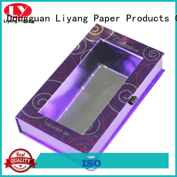 magnetic cosmetic gift box free sample for lipstick