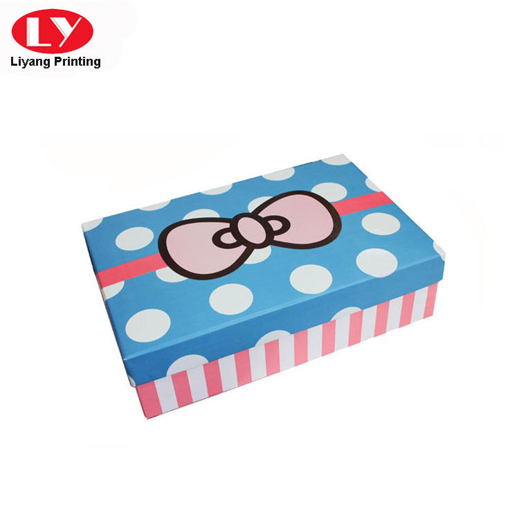 Liyang Paper Packaging colorful paper gift box popular for christmas-1