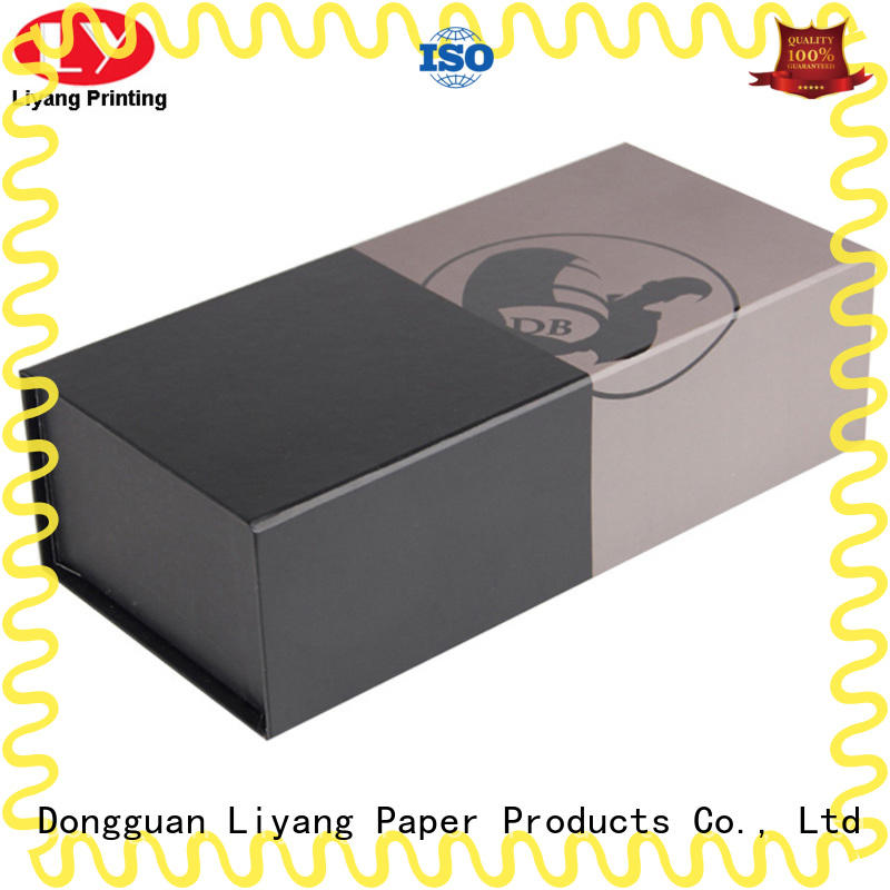 Liyang Paper Packaging satin wine box packaging for wholesale for spirit