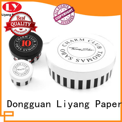 free sample round gift box OEM at discount for packaging