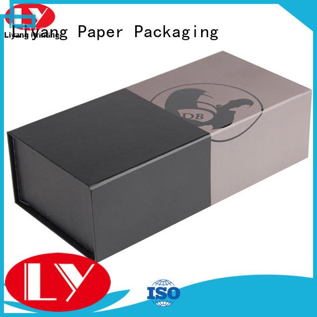 Liyang Paper Packaging logo printed wine box packaging foam for shop
