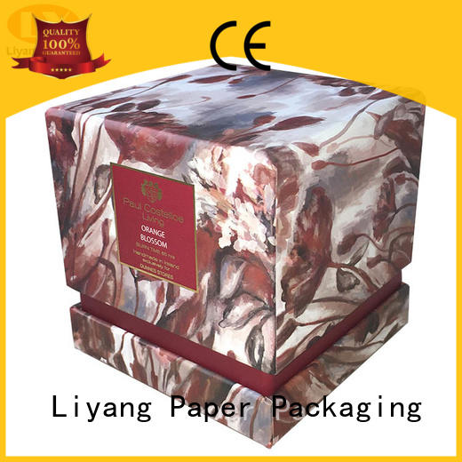 candle box packaging factory price for display Liyang Paper Packaging