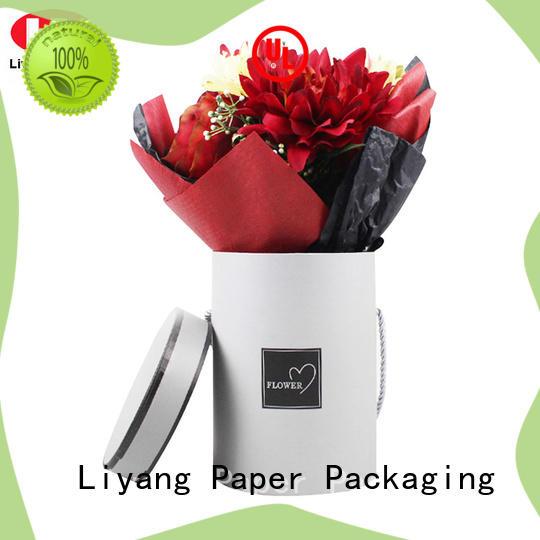 Liyang Paper Packaging custom paper flower box distinctive designs for rose