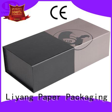 bottle red wine box satin for spirit Liyang Paper Packaging