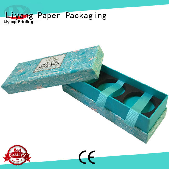 Liyang Paper Packaging luxury square gift box lid for christmas