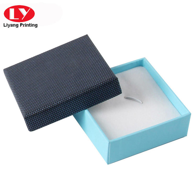 Customized Small Cardboard Ring box with Lid