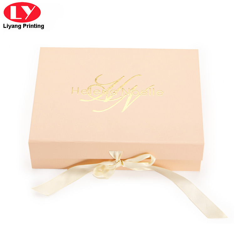 pink cosmetic gift box board factory price for packaging-5