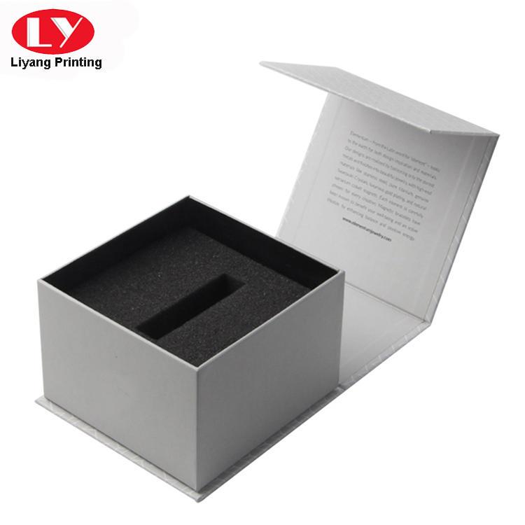 Popular sales luxury square folding lipstick box
