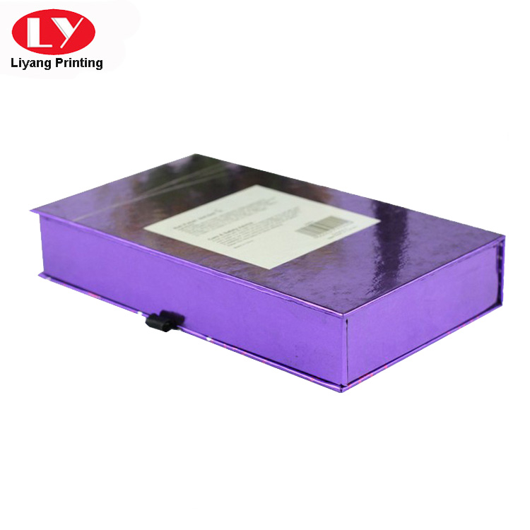 Liyang Paper Packaging popular pillow box with ribbon handle tab for lipstick-4