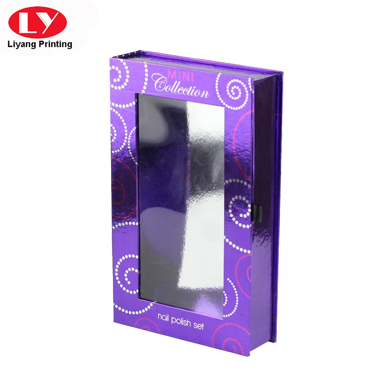 Liyang Paper Packaging popular pillow box with ribbon handle tab for lipstick-5