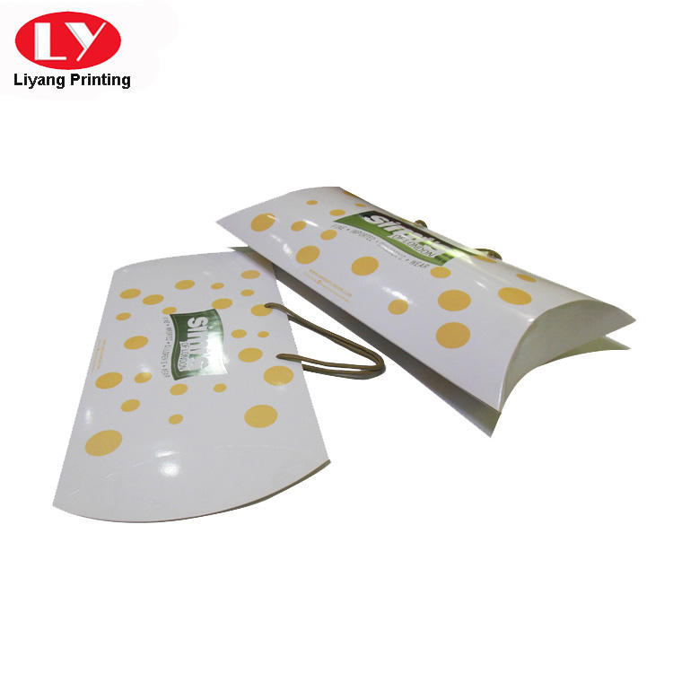 Liyang Paper Packaging folding gift boxes for clothes custom logo for white ribbon