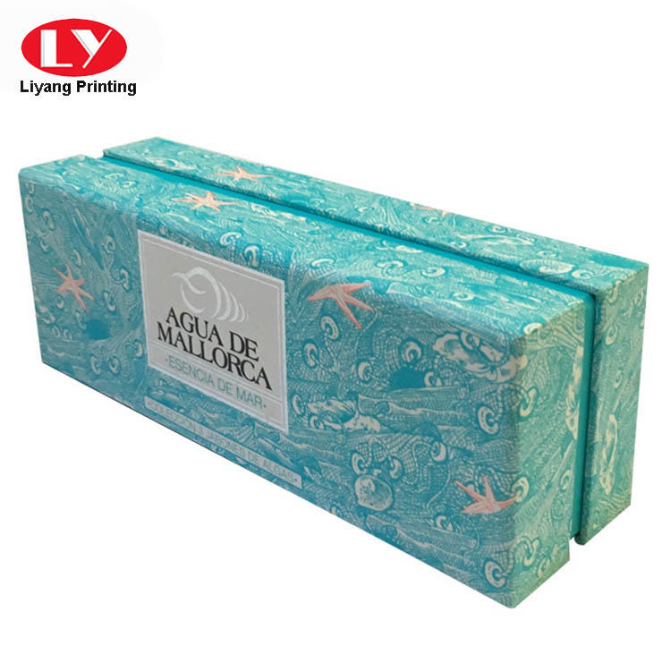 colorful luxury gift box packaging for marble Liyang Paper Packaging