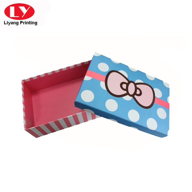 popular custom gift boxes photo pieces Liyang Paper Packaging company