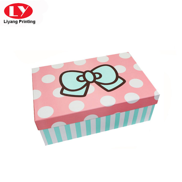 Liyang Paper Packaging colorful paper gift box popular for christmas-4