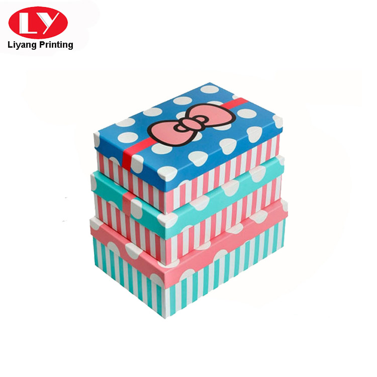 Liyang Paper Packaging colorful paper gift box popular for christmas-5