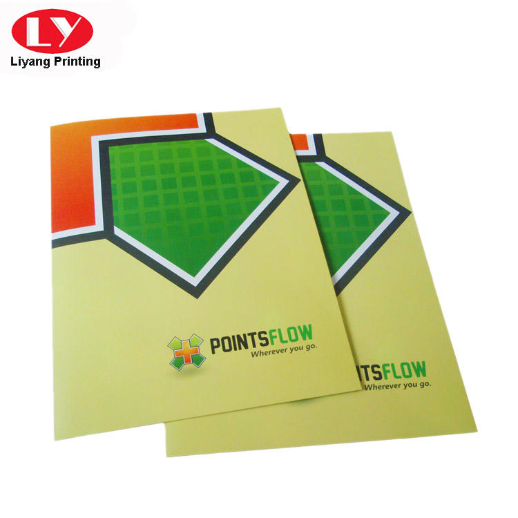 Two Pockets Paper presentation folder printing