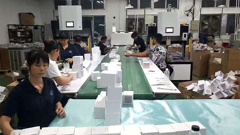 Five Handmade Box Packaging Production Lines in Liyang Company