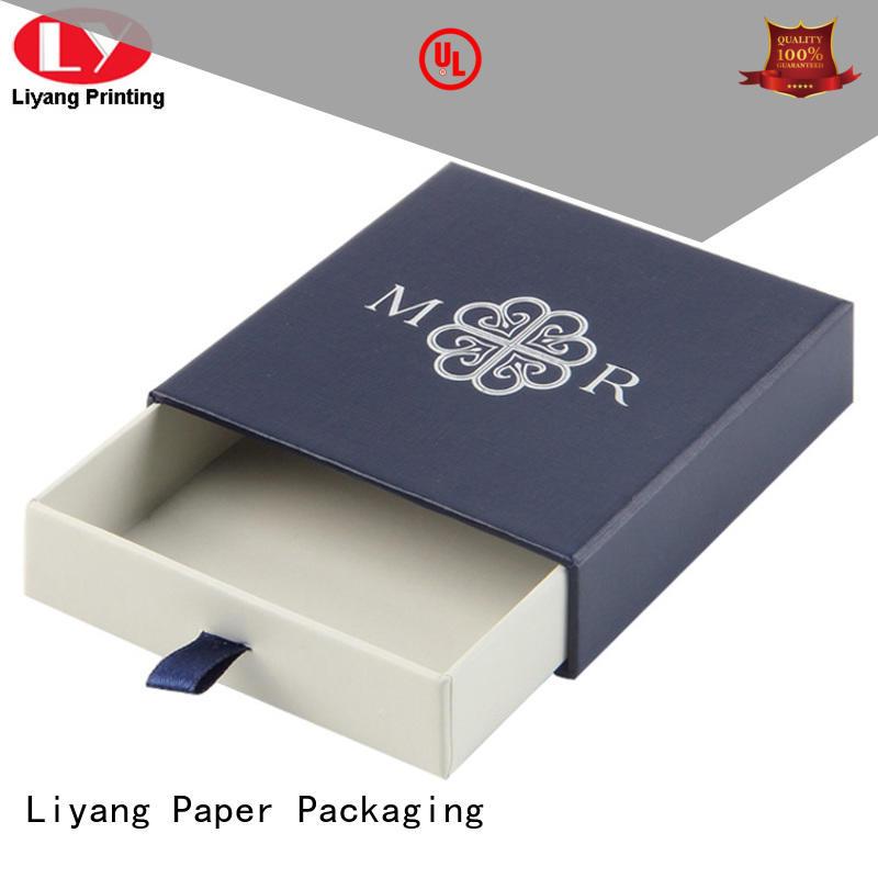 drawer cardboard jewelry boxes bracelet Liyang Paper Packaging company