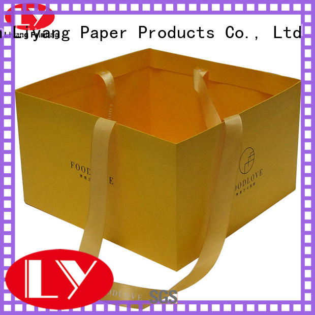 Liyang Paper Packaging environmentally friendly recycled paper bags OEM for cloth