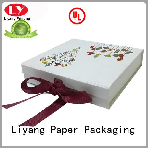 clothing packaging box boxes for white ribbon Liyang Paper Packaging