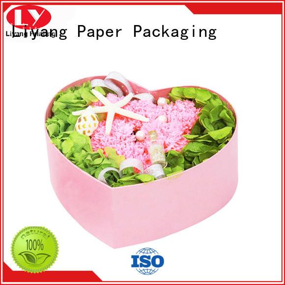 cardboard flower gift box graphic artwork for cosmetics