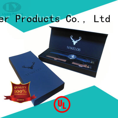 black gift Liyang Paper Packaging Brand jewelry gift boxes factory