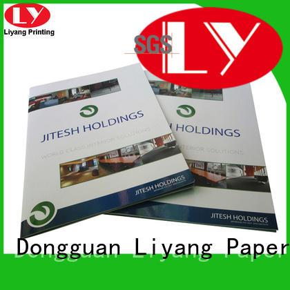 Liyang Paper Packaging OEM presentation folders printing paper sticker label