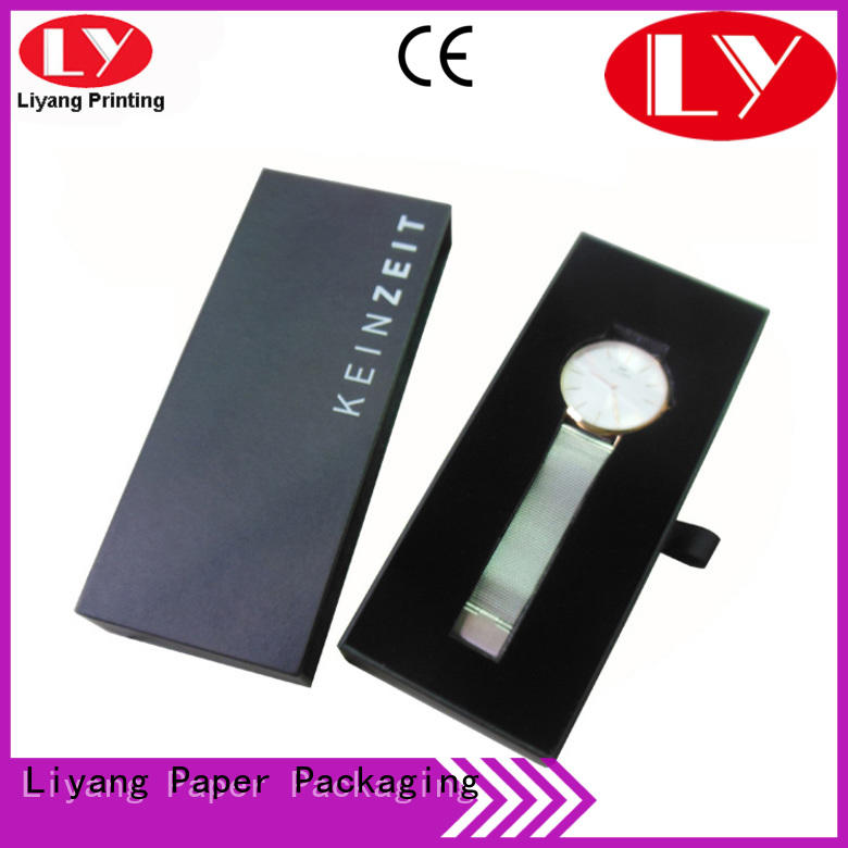 recycled cardboard jewelry packaging ODM for gift Liyang Paper Packaging