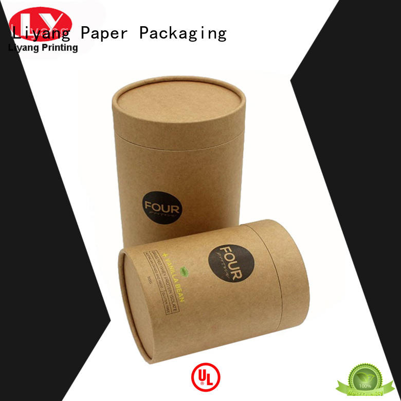 Liyang Paper Packaging round gift box at discount for bracelet