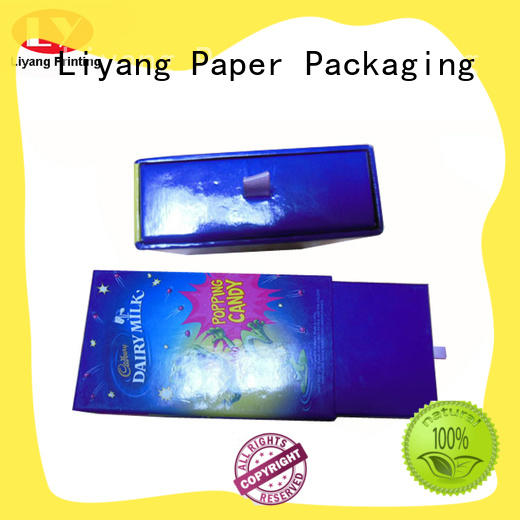 belt wholesale gift box square for chocolate Liyang Paper Packaging