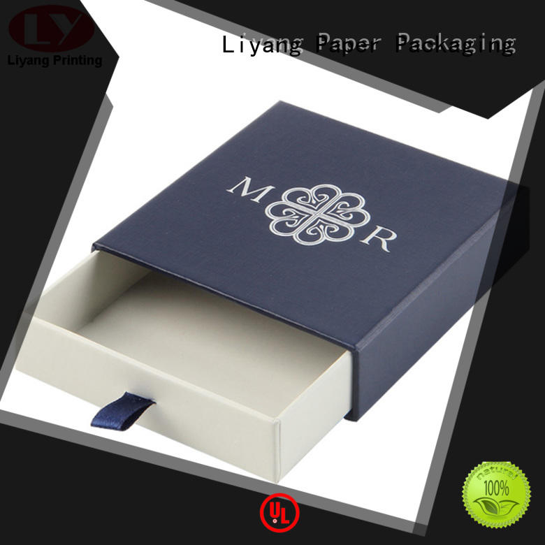 personalized jewelry gift boxes bulk bulk production for necklace Liyang Paper Packaging