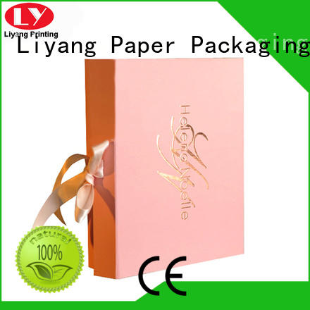 Liyang Paper Packaging Brand hair extension sales cosmetic gift box