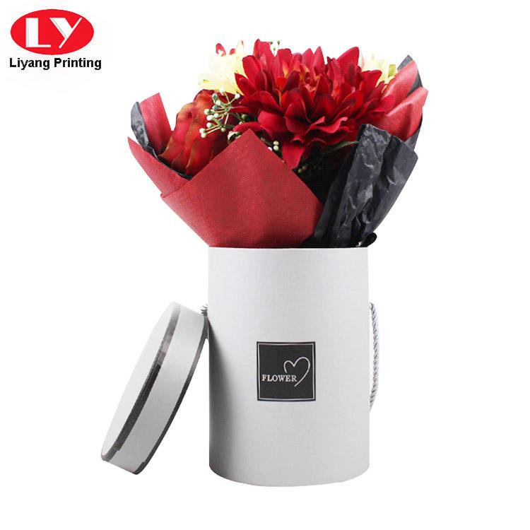 Liyang Paper Packaging printed paper flower box graphic artwork for florist-1