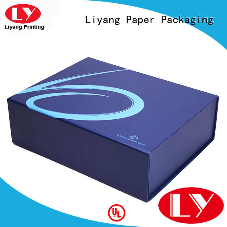 tapes baby clothing paper box Liyang Paper Packaging manufacture