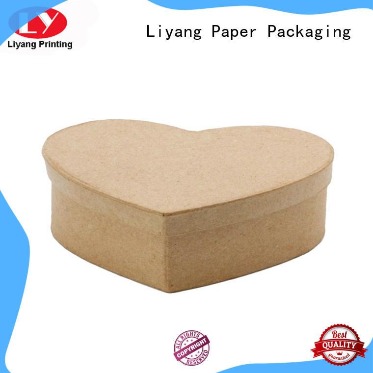 Liyang Paper Packaging pvc shape box ODM for christmas