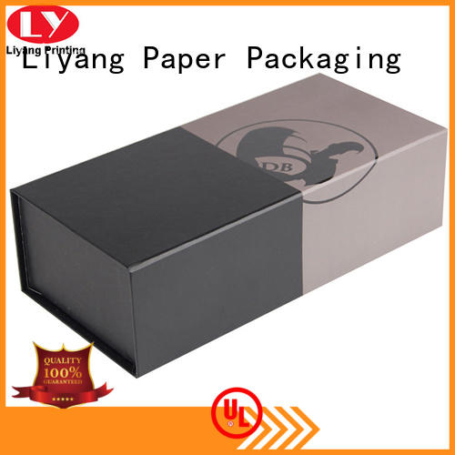 Liyang Paper Packaging bottle wine gift box cardboard for wholesale for shop