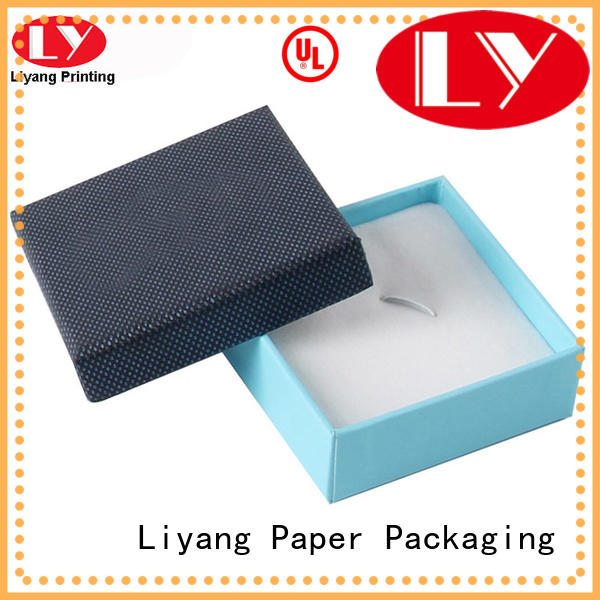 Liyang Paper Packaging soft custom jewelry packaging bulk production for gift