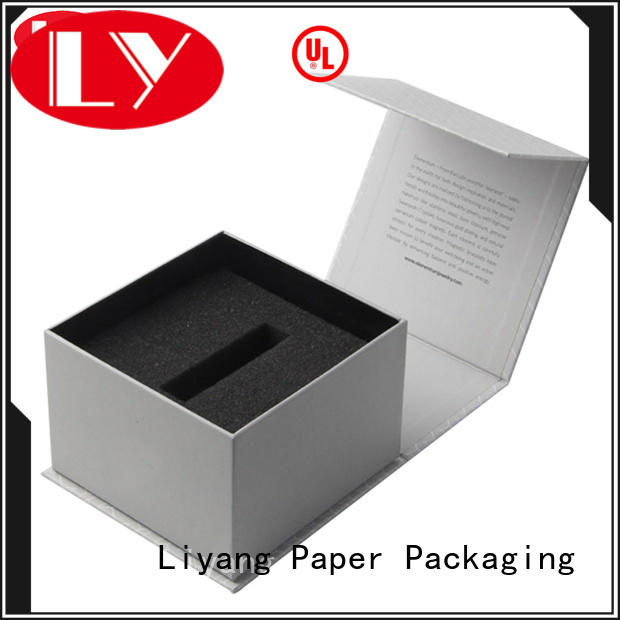 extension large closure cosmetic gift packaging Liyang Paper Packaging manufacture