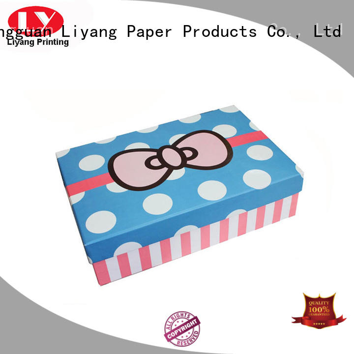 popular Custom hand base custom gift boxes Liyang Paper Packaging square