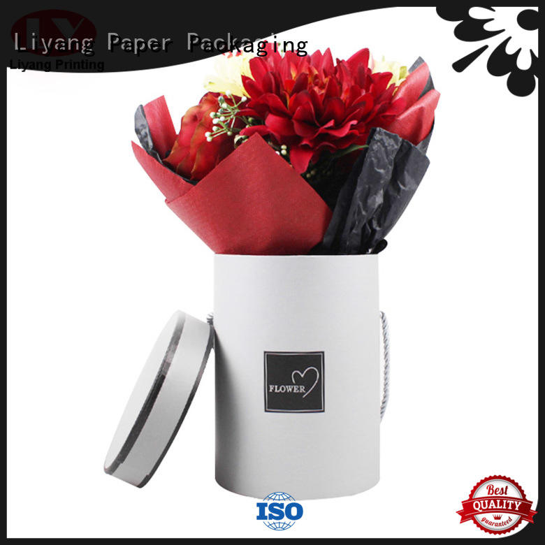 florist flower boxes pink for cosmetics Liyang Paper Packaging