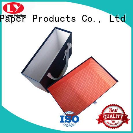 closure wholesale clothing boxes ODM Liyang Paper Packaging