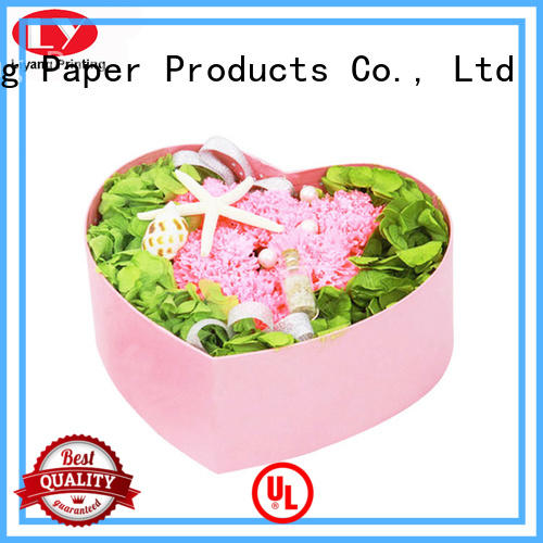 high-quality florist flower boxes square shape for rose