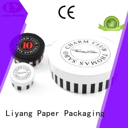 round paper box kraft bracelet round box Liyang Paper Packaging Brand