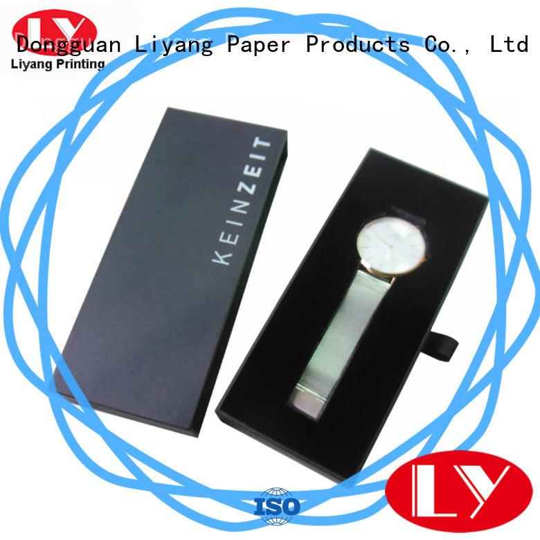 black custom jewelry packaging ODM for small bracelet