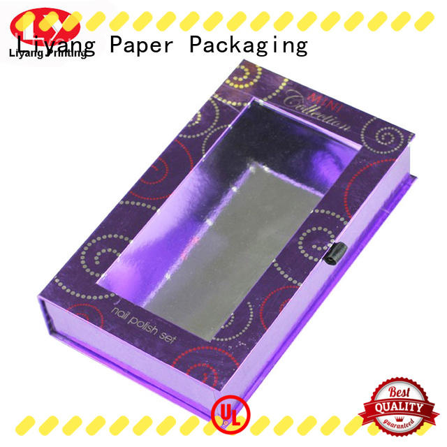 paper cosmetic gift box gift for lipstick Liyang Paper Packaging