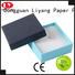 black paper Liyang Paper Packaging Brand cardboard jewelry boxes