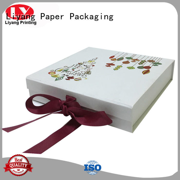 clothing packaging box tapes for packaging Liyang Paper Packaging