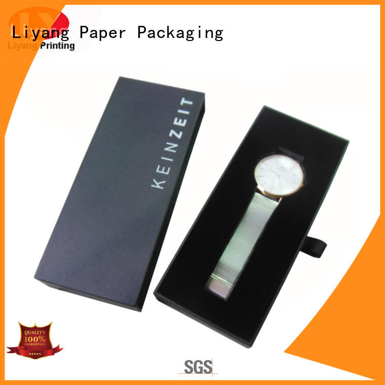 Hot cardboard jewelry boxes touch Liyang Paper Packaging Brand